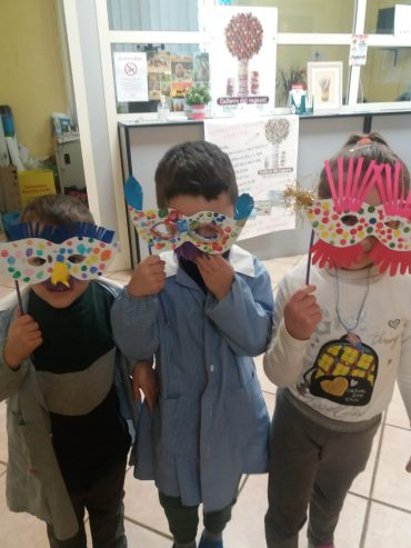I bimbi festeggiano il carnevale!!!