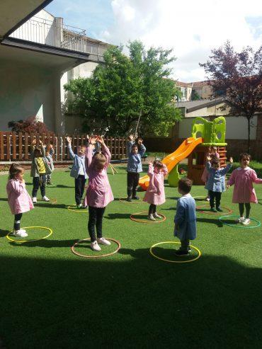 Le nostre attività in giardino!